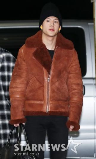 [★포토]주헌, '따뜻해보이는 자켓'