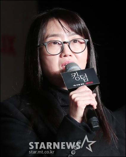 [★포토]김은희 작가, '색다른 좀비물 기대하세요'