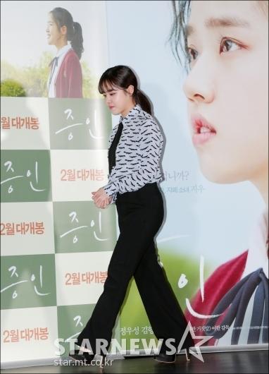 [★포토]김향기, '조심스러운 발걸음'