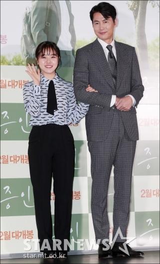 [★포토]김향기-정우성, '극장에서 만나요!'
