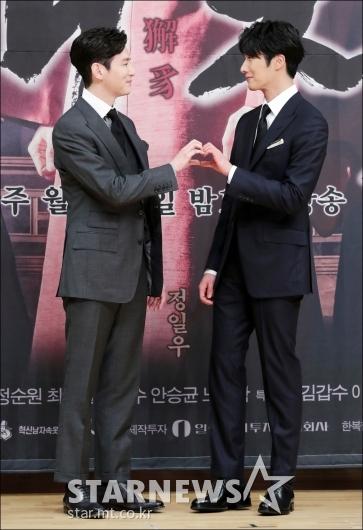 [★포토]권율-정일우, '우리 사랑(?) 이대로'
