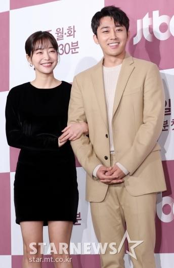 [★포토]김가은-손호준, '실제 커플같은 케미'
