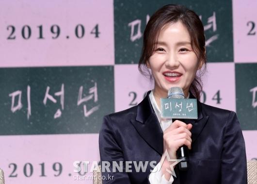 [★포토]김소진, '김윤석 감독님 믿고 참여'