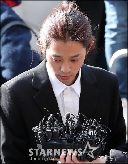 [★포토]몰카 유포 혐의로 '피의자 신분' 정준영