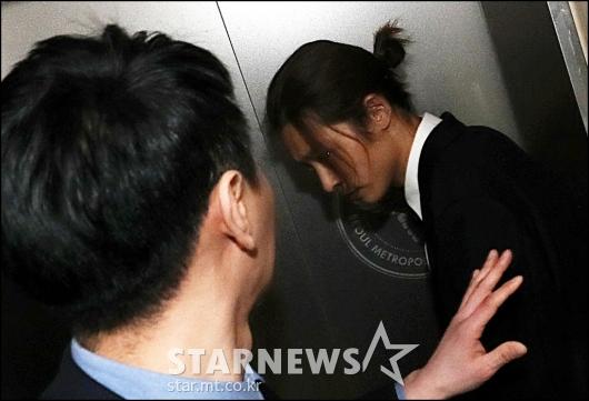 [★포토]정준영, '엘레베이터 타고 싶어요'