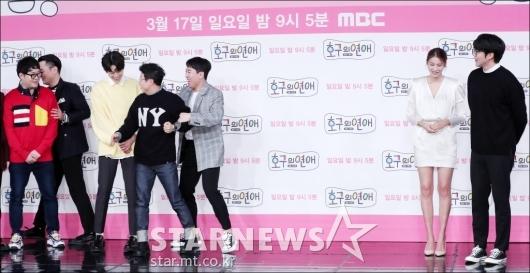 [★포토]박성광-양세찬, '유인영씨 키가 너무 커서'