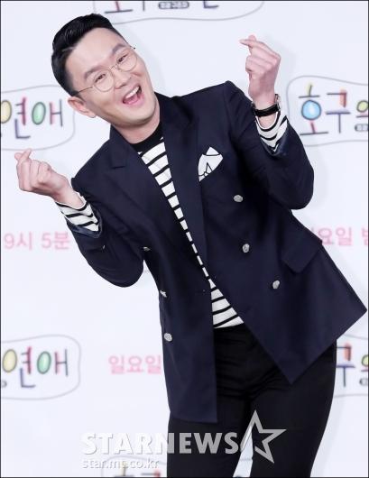 [★포토]윤형빈, '경미야 보고있지?'