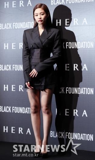 [★포토]제니가 완성한 블랙 시크