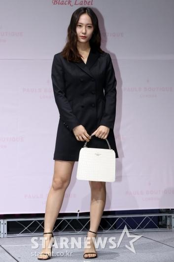 [★포토]크리스탈 '자켓 한장으로 완성된 패션'