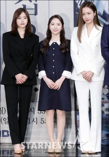 [★포토]한보름-최다빈-홍수현, '단아한 패션'