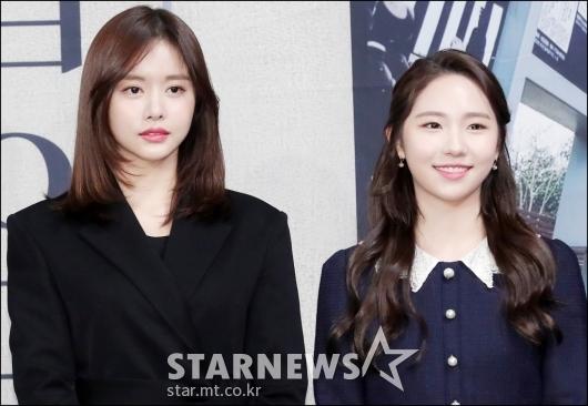 [★포토]한보름-최다빈, '눈부신 미모'