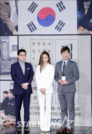 [★포토]손현주-홍수현-허일후, '대한민국 역사를 위해'