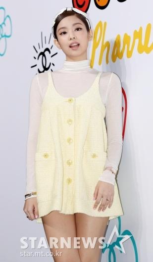 [★포토]제니, '노란 병아리같은 비주얼'