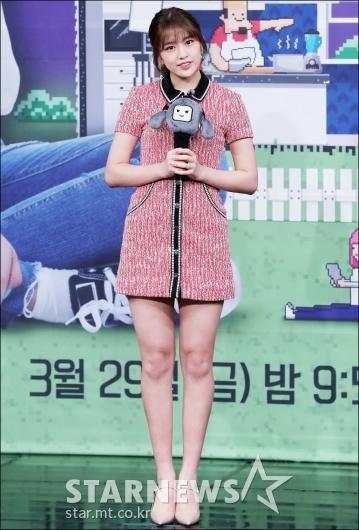 [★포토]안유진, '마리텔 요정'