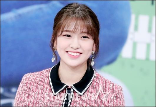 [★포토]안유진, '빠져드는 미소'