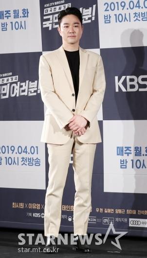 [★포토]태인호, '아무나 입기 힘든 베이지 컬러'