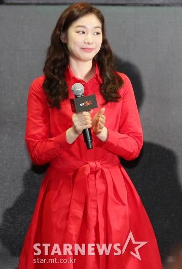 [★포토]김연아, '화사한 봄빛 미소'