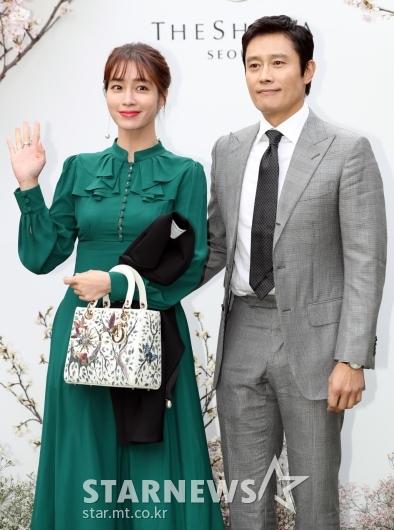 [★포토]이병헌-이민정, 행복한 부부