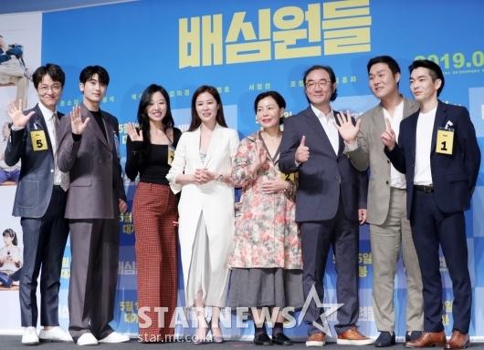 [★포토]첫 국민참여재판의 '배심원들'