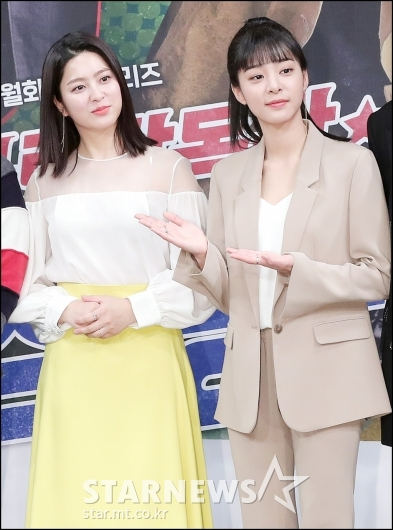 [★포토]박세영-설인아, '실물 미모에 깜짝'