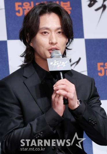 [★포토]김성규, '첫 제작보고회 참석'