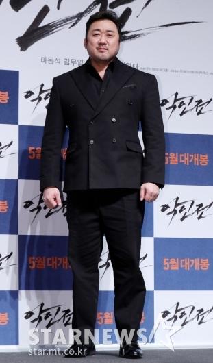 [★포토]마동석, '믿고 보는 액션 연기'