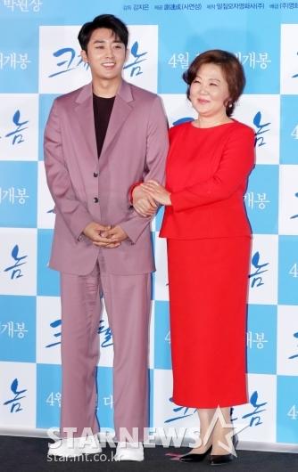 [★포토]손호준-김해숙, '기대되는 모자 연기 호흡'