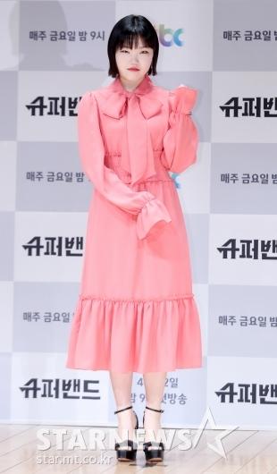 [★포토]이수현, '사랑스런 핑크빛 원피스'