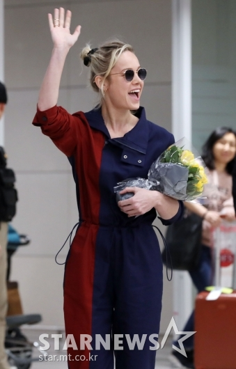 [★포토]브리 라슨 '한국팬들 반가워요'