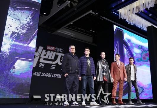 [★포토]韓 찾은 '어벤져스:엔드게임'의 주역들