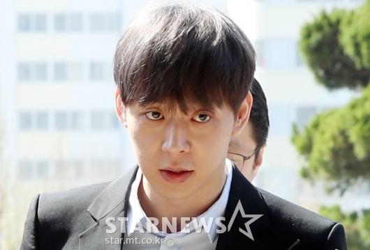 [★포토]경찰 출석하는 박유천