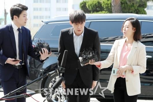 [★포토]박유천, '마약 혐의'로 경찰 출석