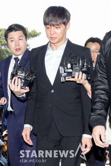 [★포토]경기남부지방경찰청 들어서는 박유천
