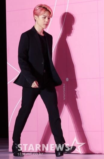 [★포토]지민, '시크한 올블랙'