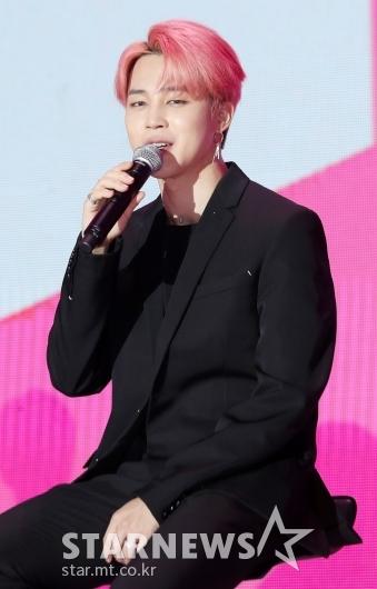 [★포토]지민, '방탄소년단의 근원은 팬분들'