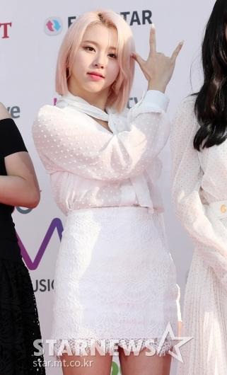 [★포토]채영, '아기사자의 귀여운 팬시'