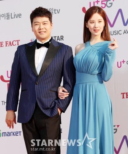 [★포토]전현무-서현, '오늘의 진행 커플'