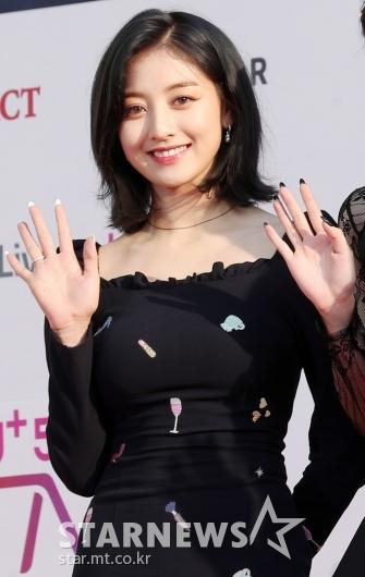 [★포토]지효, '어마어마한 미모'