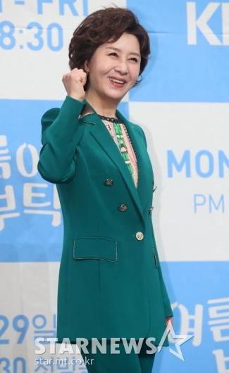 [★포토]김혜옥, '파이팅'