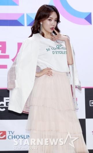 [★포토]김나희, '개그우먼 이미지 벗고 트롯여신으로'
