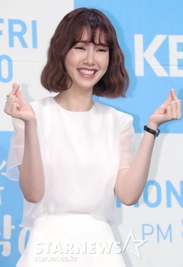 [★포토]나혜미, '웃음 가득'