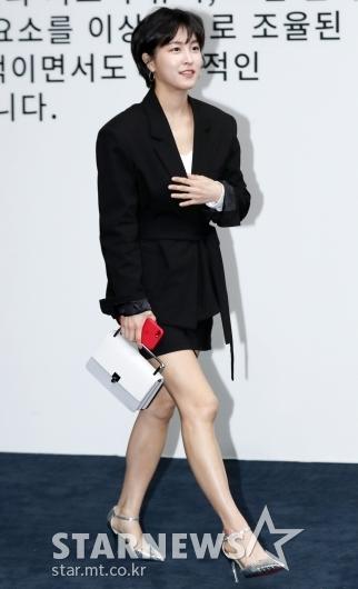 [★포토]박민지, '오버사이즈 자켓으로 멋낸 패션'