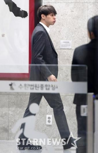 [★포토]박유천, 수원지방법원 출석