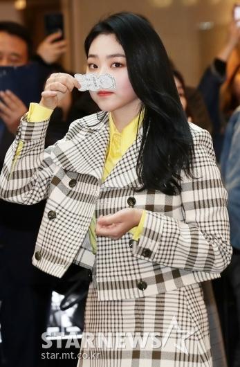 [★포토]미나, '무슨 향이 나나?'