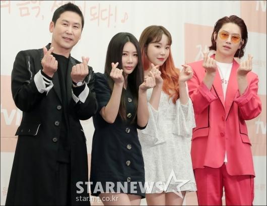 [★포토]신동엽-제아-주이-김희철, '작업실' MC 군단!