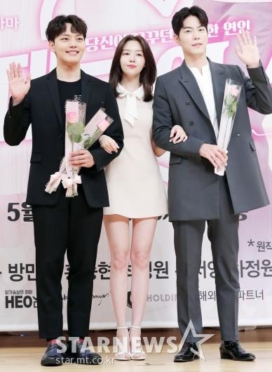 [★포토]여진구-방민아-홍종현, '선남 선녀'