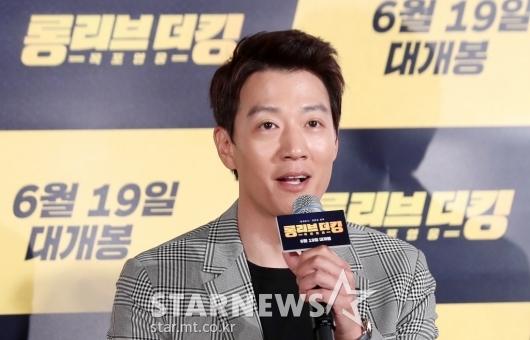 [★포토]김래원, '목포 형님으로 돌아왔습니다'