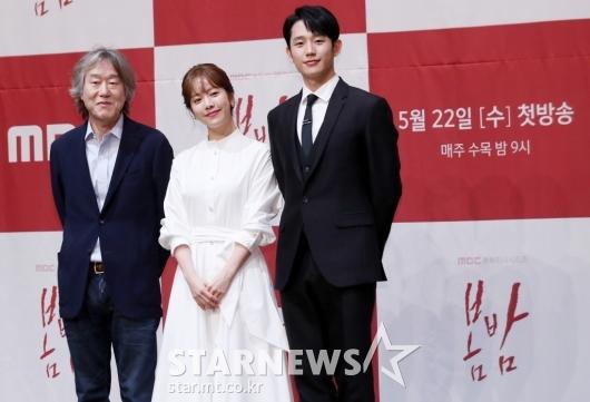 [★포토]수목 드라마 '봄밤'의 주역들