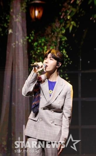 [★포토]김재환, '숲 속에서 노래하듯'