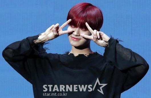 [★포토]이대휘, '사랑스러운 애교'